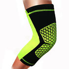 Sport Knee Compression Sleeve Leg Support Brace Fitness Crossfit Running Black G