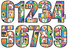 Wheelie Bin Numbers Stickers - Custom House Number Sticky 18cm Large Dog Design