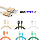 For HTC One M10 Bolt 10 USB Type C 3.1 Nylon Braided Charging Cable