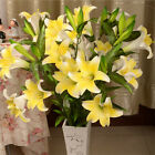 Calla Lilly Fake Flower Silk Plastic Artificial Bouquet Home Wedding Decoration