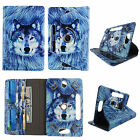 """Universal Case for Toshiba Excite Pro 10.1"""" Leather Folio Stand ID Slots Cover"""