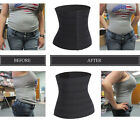 Waist Trainer Trimmer Belt Weight Loss Wrap Stomach Fat Burner Shaper Corset W22