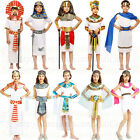 Kids Cleopatra Egyptian Historical Girls Fancy Dress Costume Princess Book Day