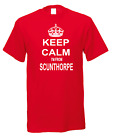 Keep Calm I'm From Scunthorpe Town City Nicknames Novelty Fun T-shirt