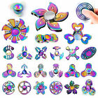 Rainbow Fidget Spinner Stress Metal Alloy EDC High Speed Focus Toy Kids Adults