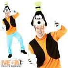 Disney Goofy Mickey Mouse Mens Fancy Dress Animal TV Character Adults Costume