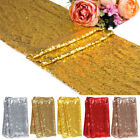 """1 5 10pcs Sequin Table Runners 12""""x71"""" Sparkle Glitter Wedding Party Decorations"""