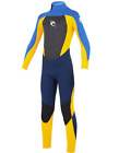 Rip Curl Dawn Patrol E4 3/2mm or 4/3mm Back Zip Wetsuit Youth 6 8 10 12 14 16