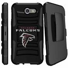 For Samsung Phone Models Dual Layer Hybrid Holster Case kickstand ALL NFL Teams