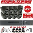 Home CCTV HD 2.4MP 1080P Nigh Vision Surveillance Security Cameras System Kit