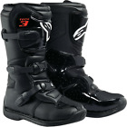 Alpinestars Tech 3S Offroad Motorcycle Riding Boots Black