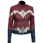 Women's Gal Gadot / Diana Prince Wonder Woman inspired Faux Leather Jacket
