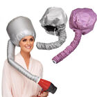 Portable Soft Hair Drying Cap Bonnet Hood Hat Blow Dryer Attachment US Location