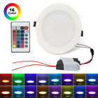 5W 10W LED Flush Mount Color Change RGB Ceiling Light Recessed Down Lights Lamp