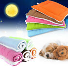Pet Bed Cushion Mat Pad Dog Cat Kennel Crate Warm Cozy Soft Blanket S M L XL US