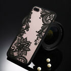Sexy Retro Floral Lace Flower Hard PC + TPU Phone Case For Ipnone 7/7plus
