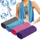 Cooling Towel ICE Cold Golf Cycling Jogging Yoga Fitness Gym Sports Outdoor