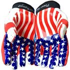 Ultra Stick American Flag US Football Receivers Gloves (PAIR)- CLEARENCE SALE