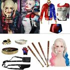 LOT Halloween Harley Quinn Jacket T-shirt Monster Suicide Squad Costume Cosplay