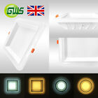 Exclusive Super Bright Backlit Round & Square LED Ceiling Panel Light Downlight