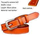 Top quality Fashion womens Belt Genuine Leather belt for jeans Waist size XS-3XL