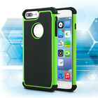 For Apple iPod Touch 5th Gen Hybrid Rugged Shockproof Rubber Dual Hard Case