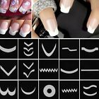 Fashion 3D Nail Art Transfer Stickers Design Manicure Decal Decoration Tips Set
