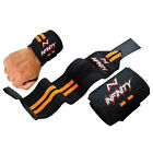 "14"" Long 3"" Wide Sports Weight Lifting Gym Training Wrist Wrap Exercise Straps"