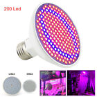 LED Plant Grow Light Flower Veg Growing lamp Bulbs Hydroponics Indoor greenhouse