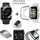 Apple Watch 1  2 42mm Sport Edition Shockproof TPU Case Clear + Tempered Glass