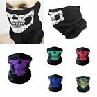 Skull Face Neck Tube Shield Mask Bandanas Skeleton Ski Motorcycle Biker Scarf