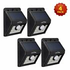Litom Solar Powered Motion Sensor Outdoor Garden Security Lights 8 20 24 54 LED
