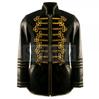 Men's Luxury Military Hussar inspired Leather Jacket