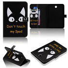 Wallet Leather Magnet Smart Wake Case Cover For Samsung Galaxt Tab 4 10.1 Tablet