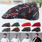 Mens Womens Chef Hat Catering Baker Sushi Japanese Kitchen Duckbill Cook Caps LJ