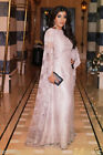 Plus Size 2-32 White Lace Evening Muslim Long Sleeve Pageant Party Prom Dresses