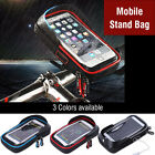 Motorcycle Bike Handlebar Holder Mount Waterproof Bag Case For Cell Phone GPS LJ