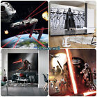 GIANT Wall Mural Photo Wallpaper STAR WARS THEME Kids Children's Room Bedroom