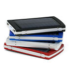 30000/50000/80000 mAh Dual USB Solar Power Bank External Battery Pack Charger