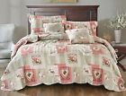 Tache Dainty Sweetheart Cottage Heart Valentine Patchwork Scalloped Bedspread image