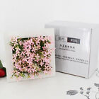Square Artificial Wall Hanging Plant Frame Flower Succulents Plant Box