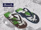 Coolers Flip Flops  Brown & Navy   Sizes  7/8   9/10- 11/12     2 PAIRS