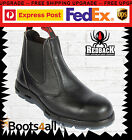 Redback Work Boots Easy Escape Steel Toe Black Rambler Leather USBBL UK SIZE