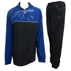 Puma Mens Tracksuit Graphic Navy Training Jogsuit Running Tracksuit 83409001 New