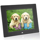 8'' Ultrathin HD TFT-LCD Digital Photo Frame Electronic Alarm MP3/4 Movie Player