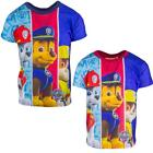 Boys Paw Patrol Chase Marshall Zuma Puppy Dog T-Shirt Top 2 to 6 Years