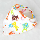 41x29x29cm Two Bottons Newborn Cotton Unisex Bib Saliva Towel Feeding Bandana LJ