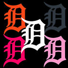 "6"" 8"" 10""  12"" 18"" 24"" Detroit Tigers D Window Wall Decal Sticker U Choose"