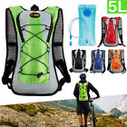 5L Bike Bicycle Hydration Pack Backpack + 2L TPU Water Bag Camelbak Cycle Hiking