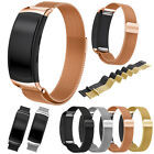 Edelstahl Milanaise Sport Silikon Milanese Band Armband für Samsung Gear Fit 2